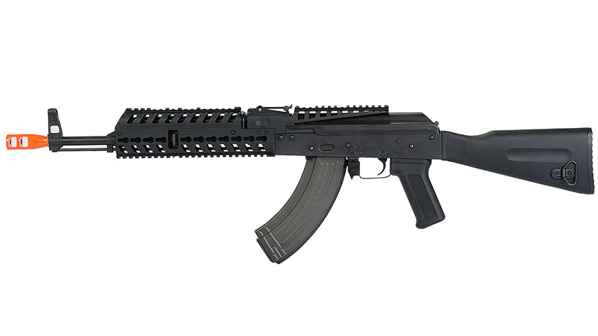 Lancer Tactical Airsoft Lonex AK47 Electric Blowback AEG Rifle (BLACK)