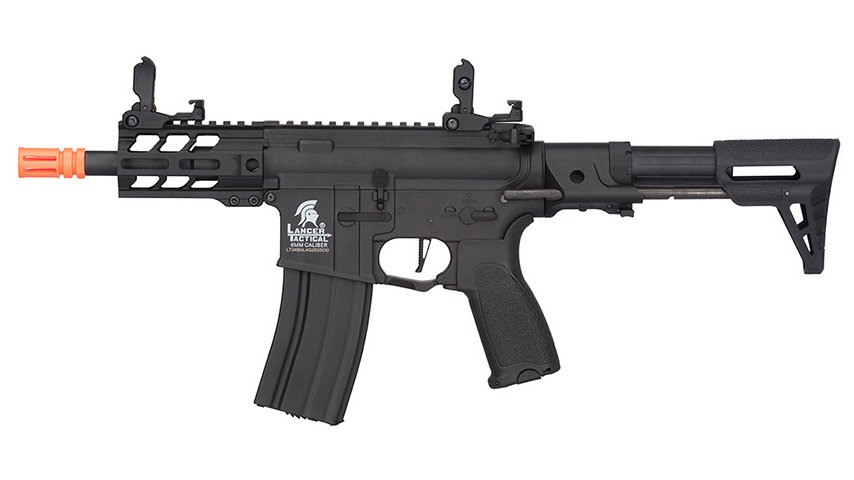 "Lancer Tactical Enforcer Hybrid Gen 2 BATTLE HAWK 4"" PDW AEG (BLACK)"