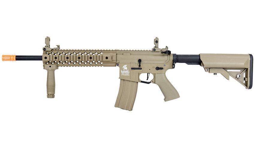 Lancer Tactical LT-12 Hybrid Gen 2 M4 EVO Airsoft AEG Rifle (TAN)