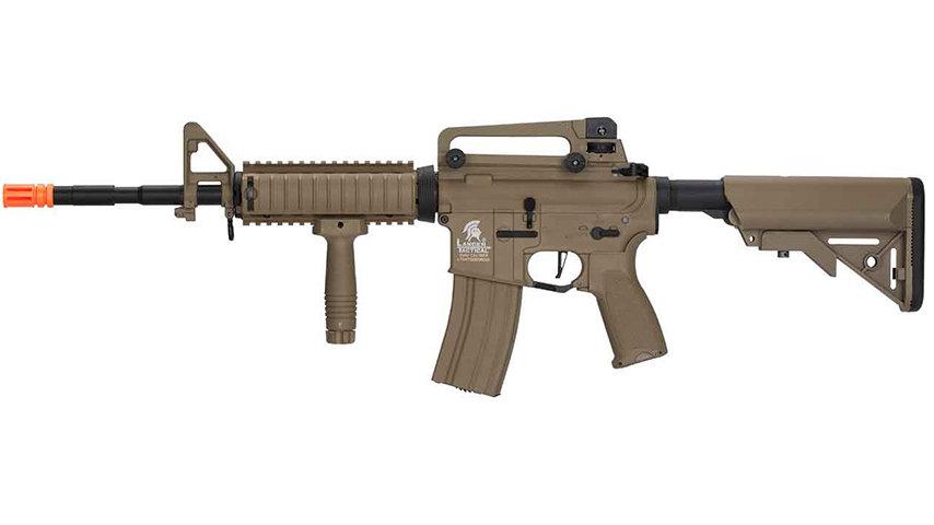 Lancer Tactical LT-04 Hybrid Gen 2 M4 RIS Airsoft AEG (TAN)