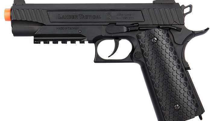 Lancer Tactical Cobra LTX-50 1911 CO2 Half-Blowback Airsoft Pistol