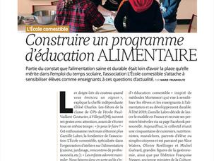 PARUTION L'ÉCOLE DES PARENTS - Avril 2021