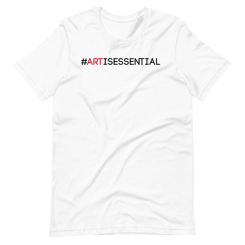 #ArtIsEssential | Short-Sleeve Unisex T-Shirt by Jessii Marie
