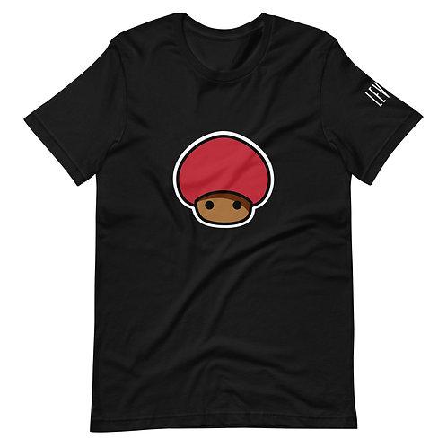 Mushroom Emblem Short-Sleeve Unisex T-Shirt