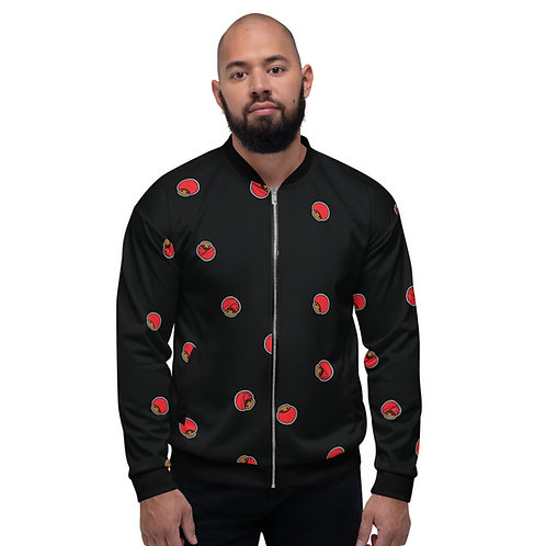 Mushroom Unisex Bomber Jacket