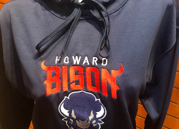 Howard Bison Embroidered Hoodie
