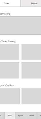 Places Wireframe