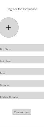 Registration Wireframe
