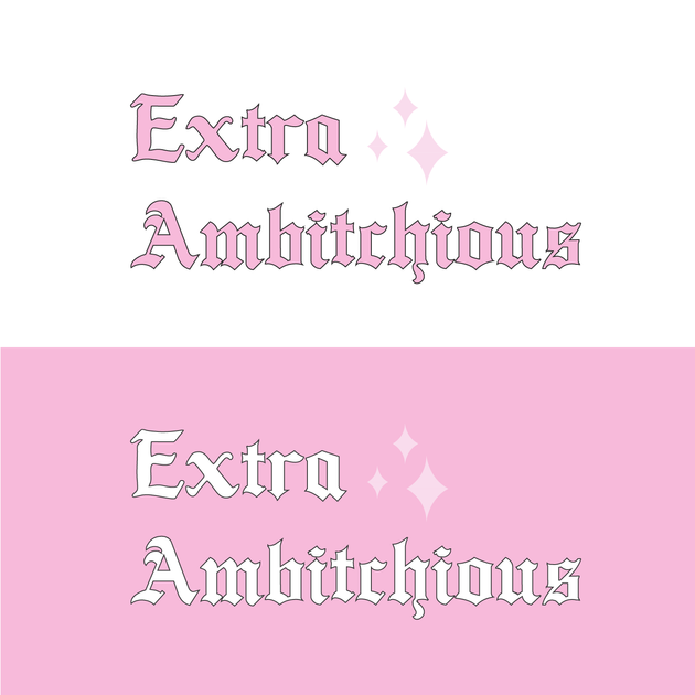 Extra Ambitchious Media Rebrand