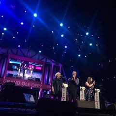 Here are a few pictures from last night at the Grand Ole Opry in Nashville! Always a highlight to be