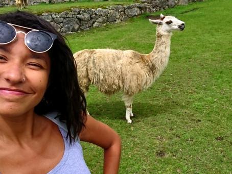 ANIMALS | Funny times with a Lama in Machu Piccu
