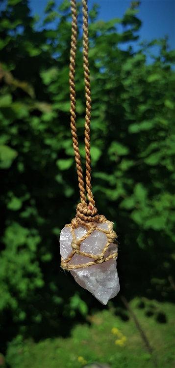 Halskette | Rosenquarz