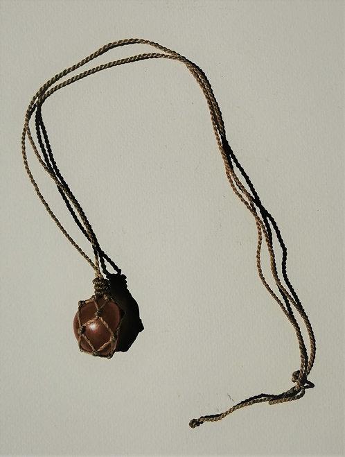 Halskette   Karneol Feuerachat