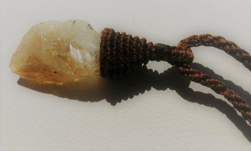 Halskette | Zitrin-Kristall