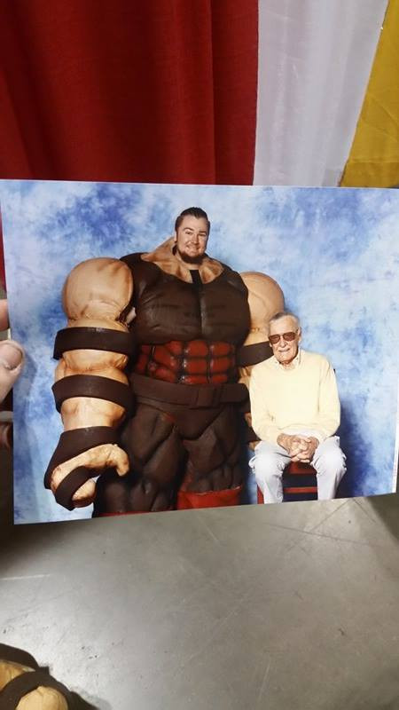Bryan even got a shot with the main man, Stan Lee!