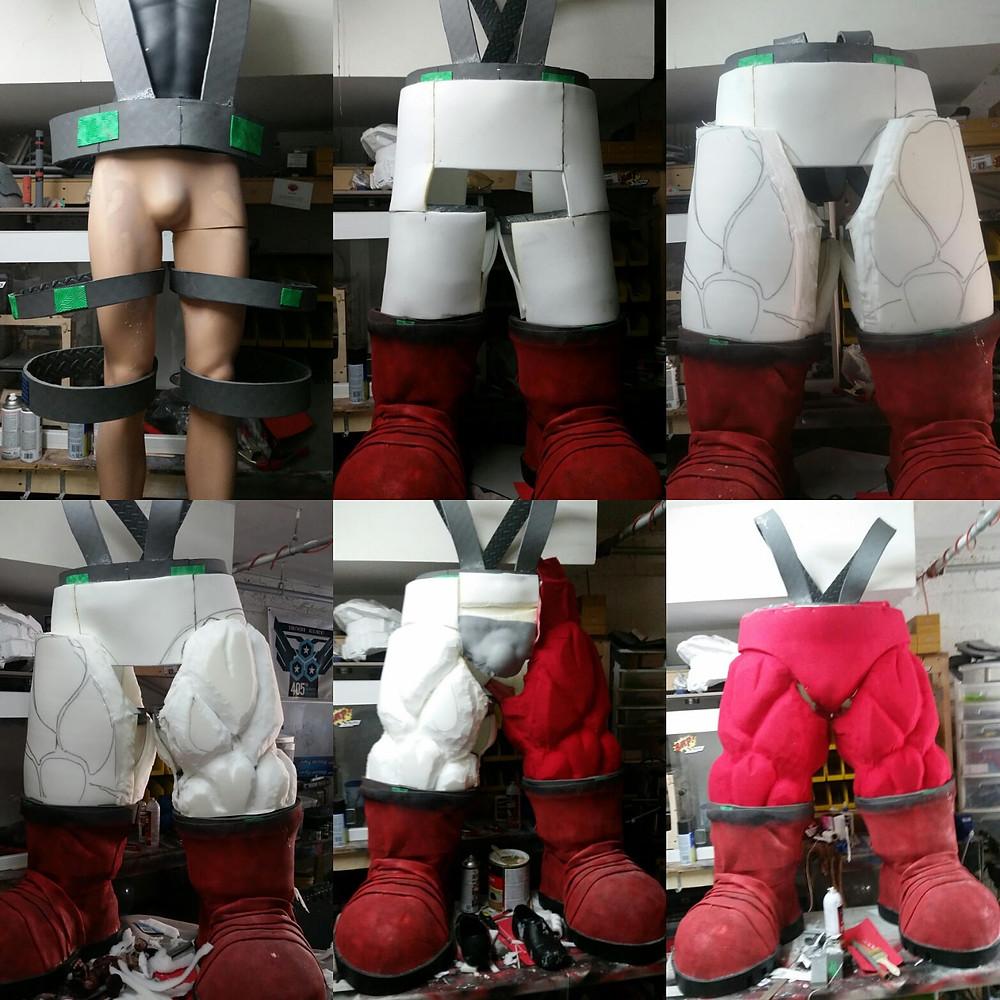 a great progression of the Juggernaut legs.