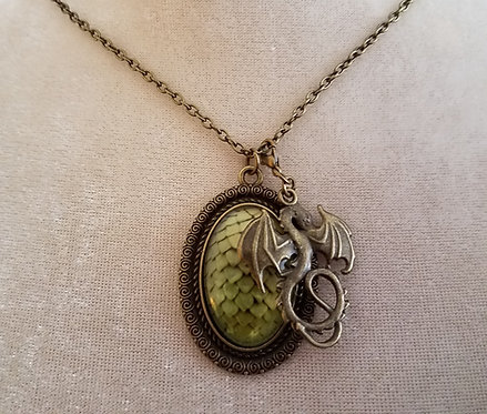 Dragon Scale Necklace & Charm