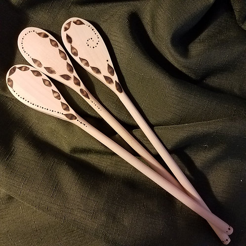 Set of 3 Kitchen Spoons