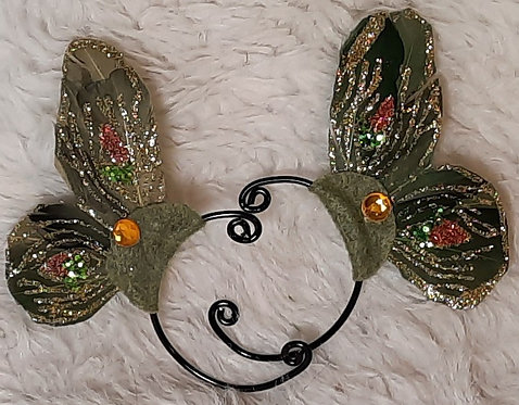 Shades of Green Butterfly Ear Cuffs Colors, 1 Pair