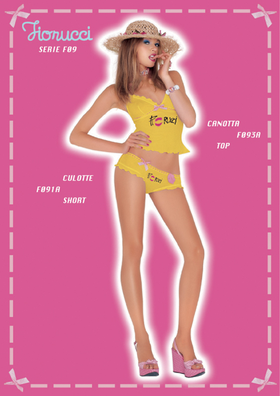 Fiorucci Underwear Donna P/E 2006