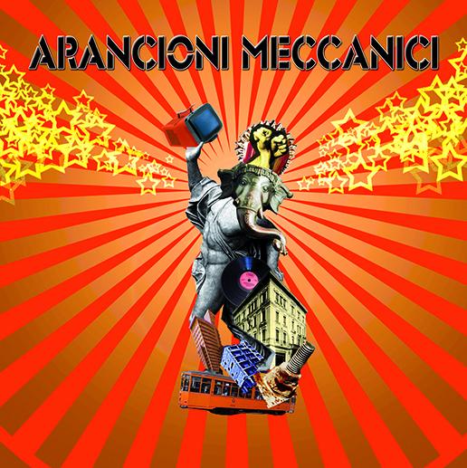 Cover CD Arancioni Meccanici