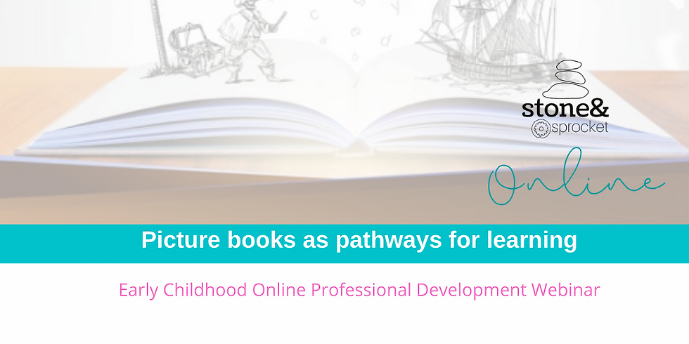 Picture Books as Pathways for Learning ONLINE