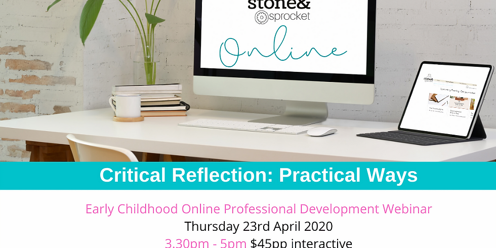 Critical Reflection Practical Ways ONLINE