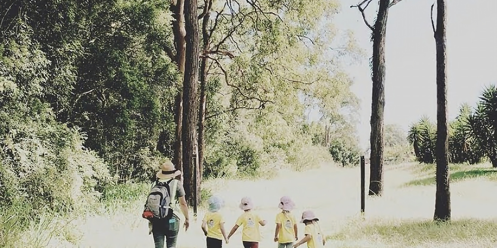 Bush Program Fundamentals: Taking children out of your centre to wild spaces