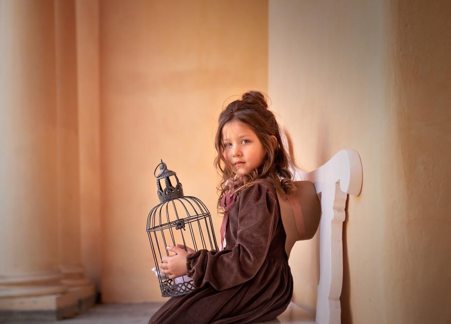 Das Mädchen und der Vogel