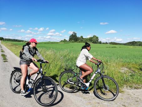 Saaristoseikkailu - rento retki sähköpyöräillen
