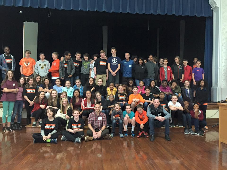 z-Albert Hill Middle School Visit1-PC-Faith Hecht