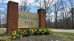 Pole Green Park Sign