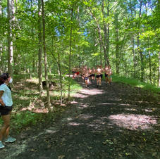 Lower 5K Course-Woods Section