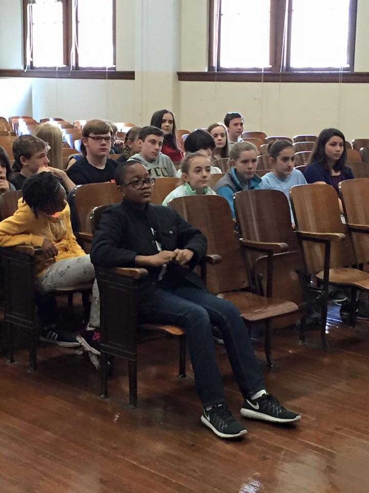 z-Albert Hill Middle School Visit4-PC-Faith Hecht