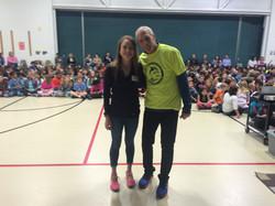 z-Echo Lake Elementary running club Visit1-Bethany Sachtleben-Bart Yasso1