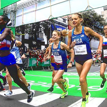 2019 Pan Am-Silver in Marathon-Bethany S