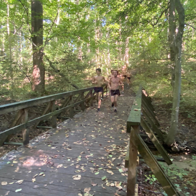 One of the Bridges on the Lower 5K Course