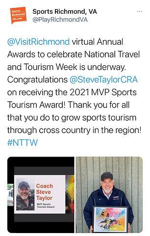 Steve RVA Tourism Annual Awards CAPTION