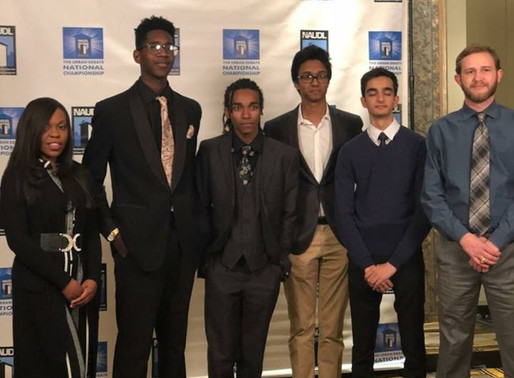 City Policy Champions represent Houston at NAUDL Tournament
