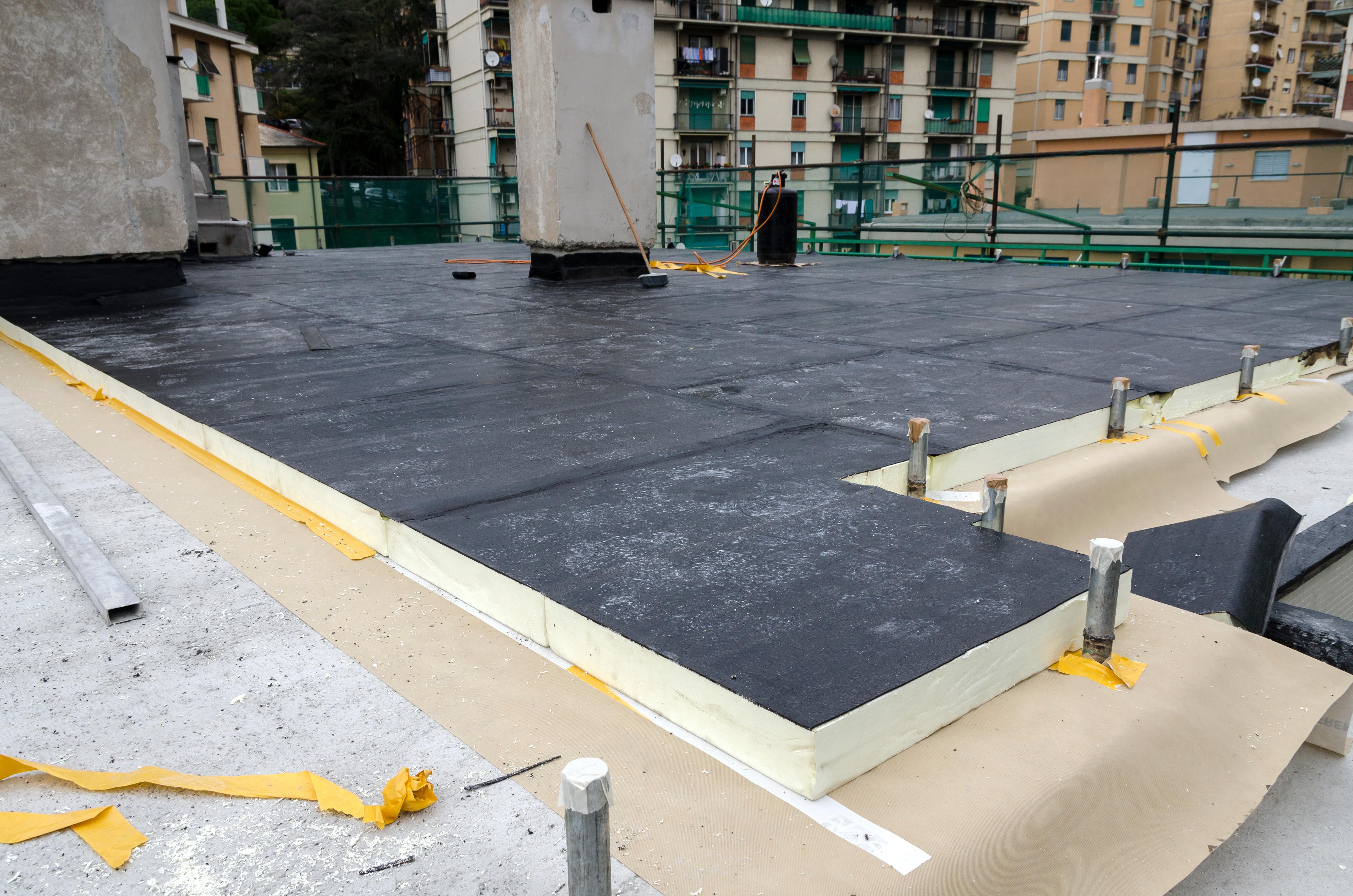 Dachflächen-Sanierung
