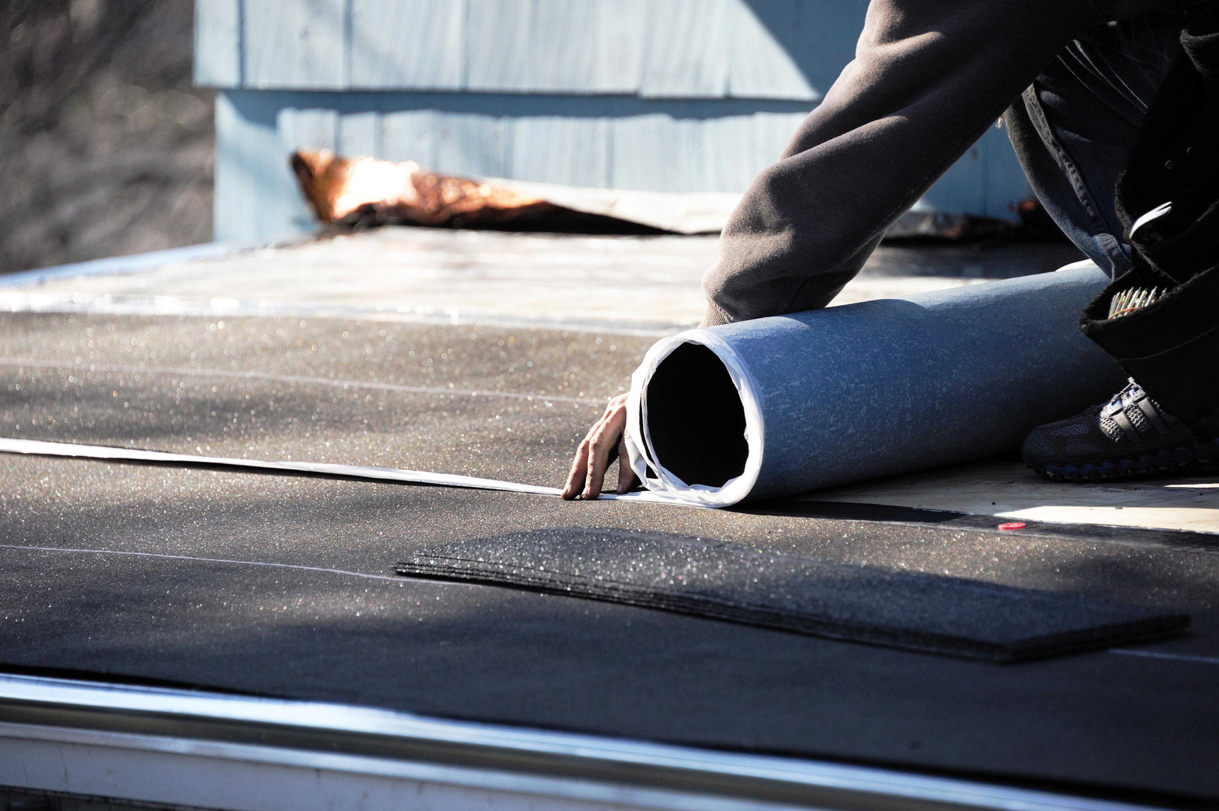 Dachflächen-Reparaturen