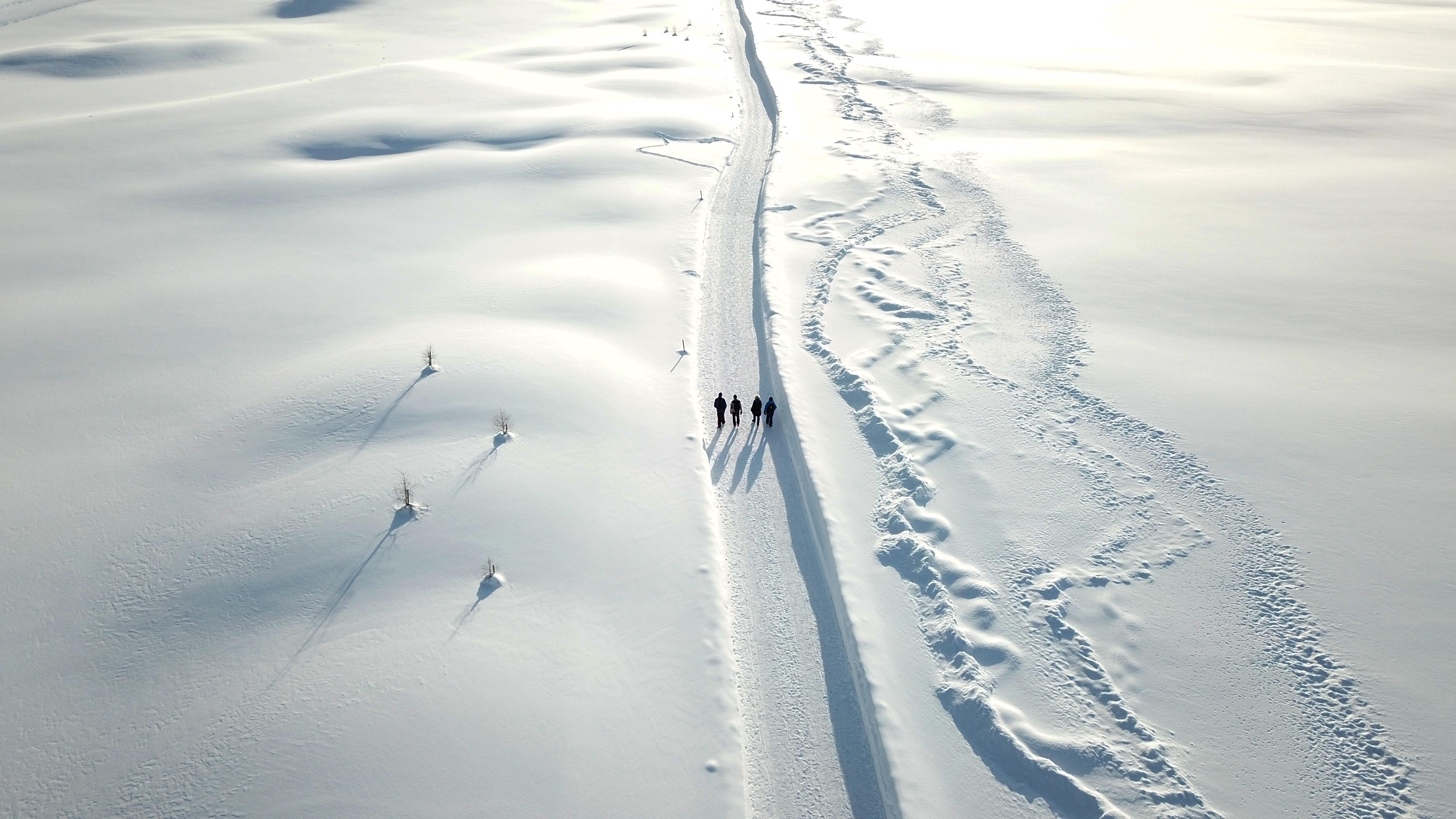 Wanderer Engadin