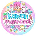 Kawaii Purrfect Logo - Slime Shop