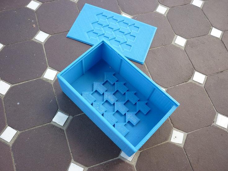 Boîte à savon n°3 - Flèches illusion