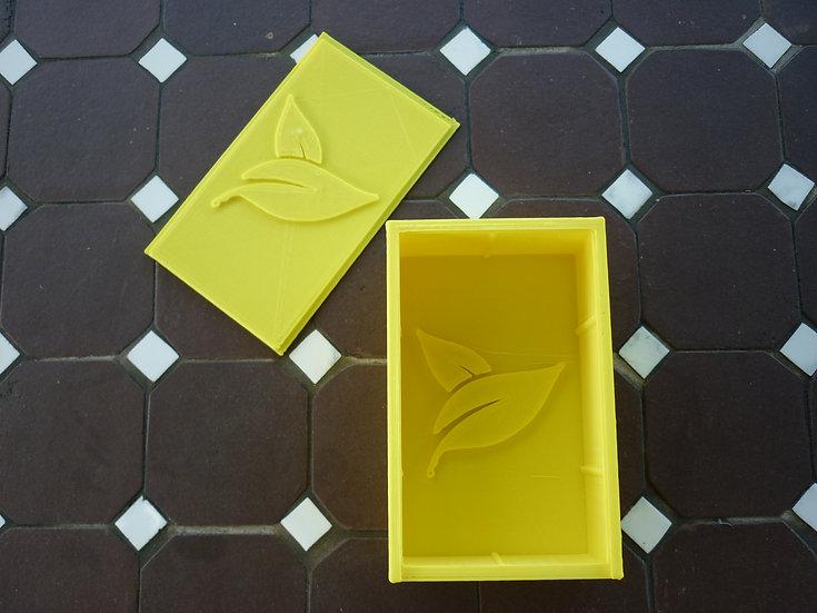 Boîte à savon n°23 - Feuille
