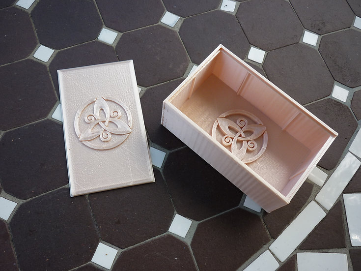 Boîte à savon n°7 - Triskèle