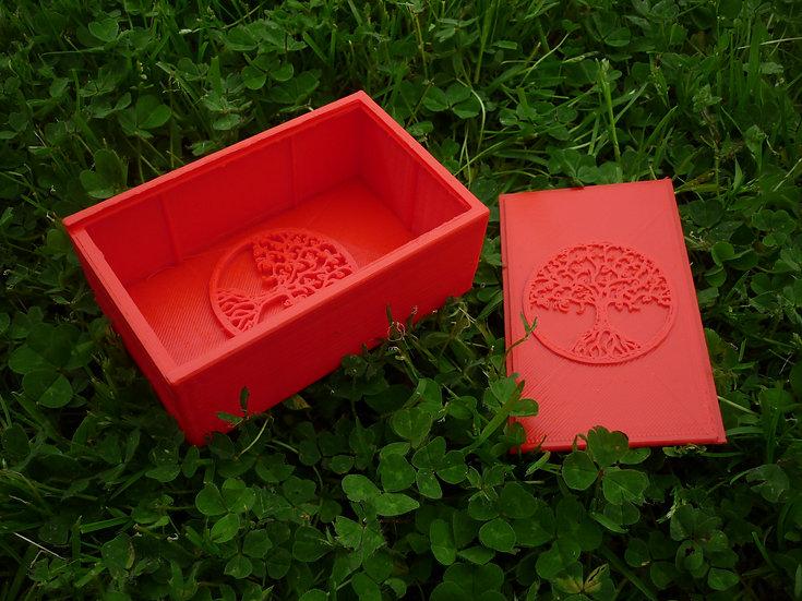Boîte à savon n°1 - Arbre de vie