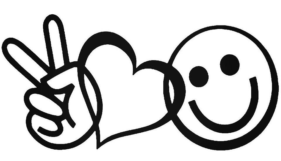 18 - Peace, Love & Happy