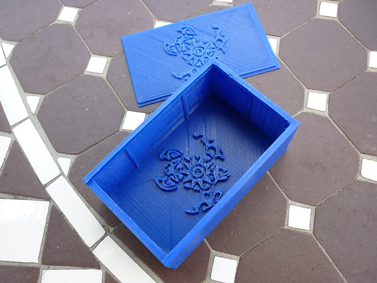 Boîte à savon n°12 - Tortue polynésienne