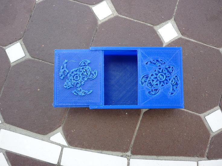 Boîte à mégôts n°12 - Tortue polynésienne